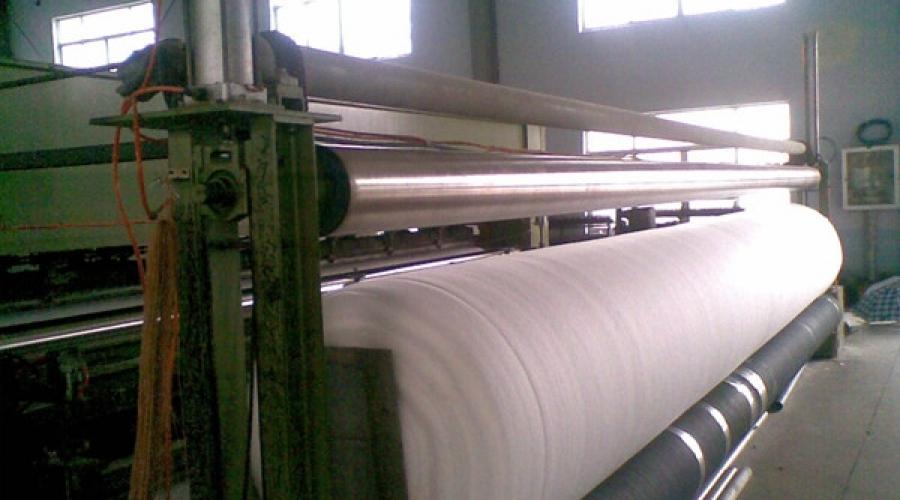 土工布生产设备